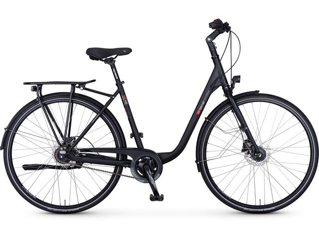 vsf fahrradmanufaktur S-100 Citybike Wave Nexus 8-speed FL Disc sort (2019) | City-cykler
